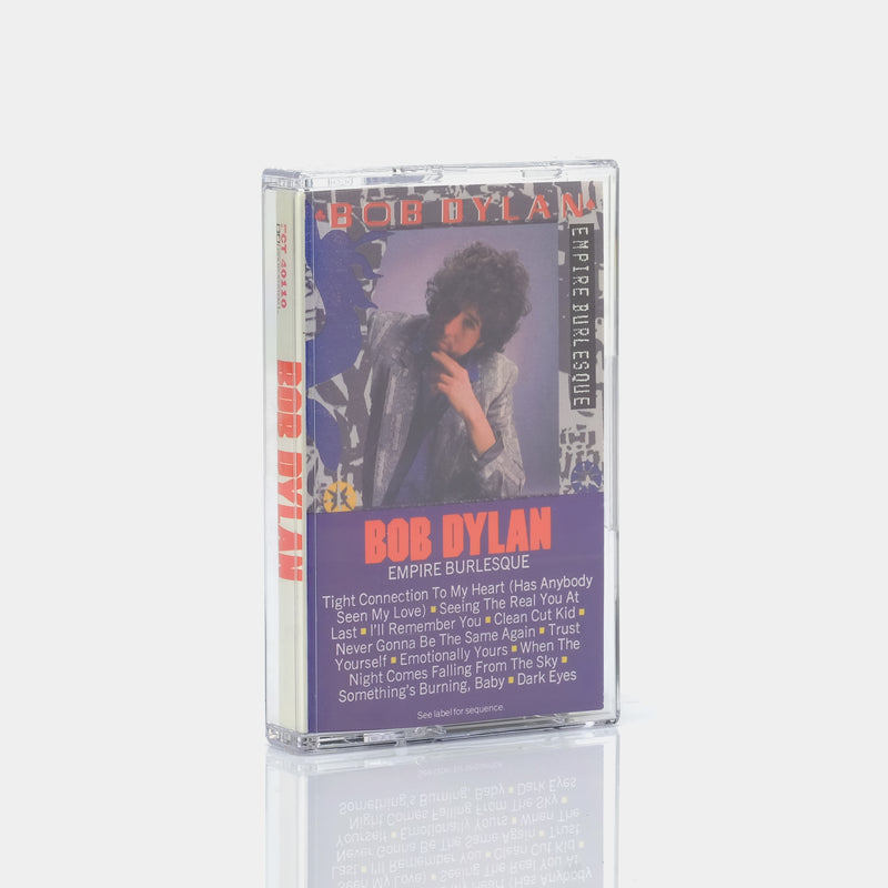 Bob Dylan - Empire Burlesque (1985) Cassette Tape