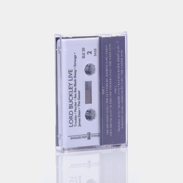 Lord Buckley - Live/The Tales Of Lord Buckley (1991) Cassette Tape
