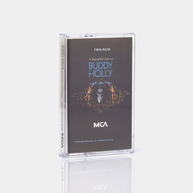 Buddy Holly - A Rock and Roll Collection (1977) Cassette Tape