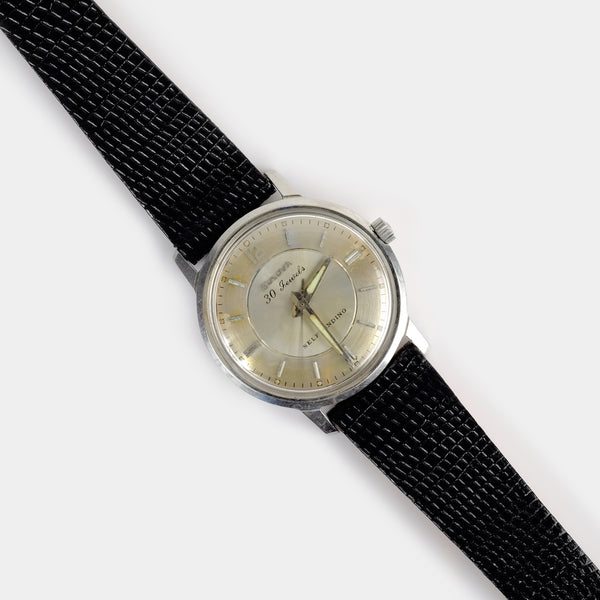 "Bulova Commander ""B"" Watch Circa 1966"