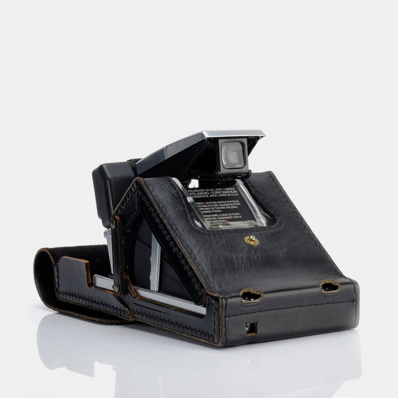 Polaroid Ever Ready Black Leather Case