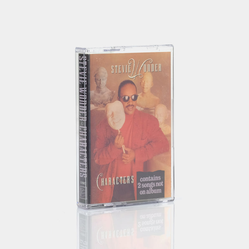 Stevie Wonder - Characters (1987) Cassette Tape