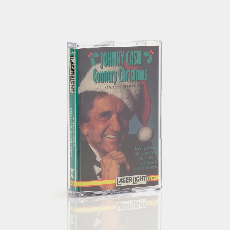Johnny Cash - Country Christmas (1991) Cassette Tape