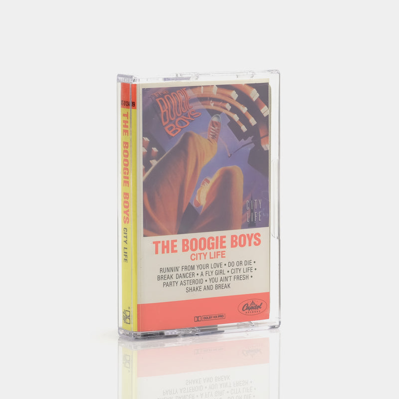The Boogie Boys - City Life (1985) Cassette Tape