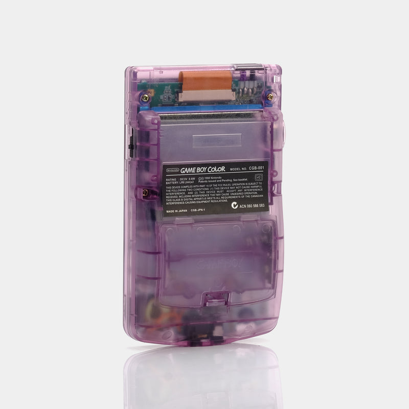 Nintendo Game Boy Color Atomic Purple Game Console
