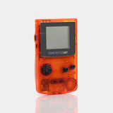 Nintendo Game Boy Color Clear Red Game Console