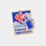 Polaroid High Definition Climbing Vintage Enamel Pin