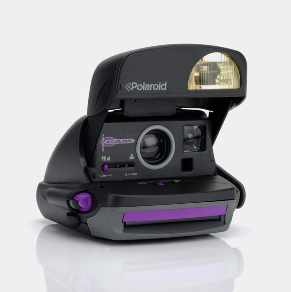 Polaroid 600 Express Purple Instant Film Camera