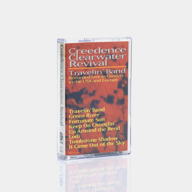 Creedence Clearwater Revival - Travelin' Band (1990) Cassette Tape