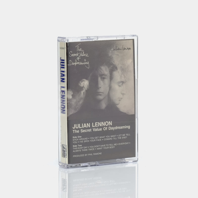 Julian Lennon - The Secret Value Of Daydreaming (1986) Cassette Tape