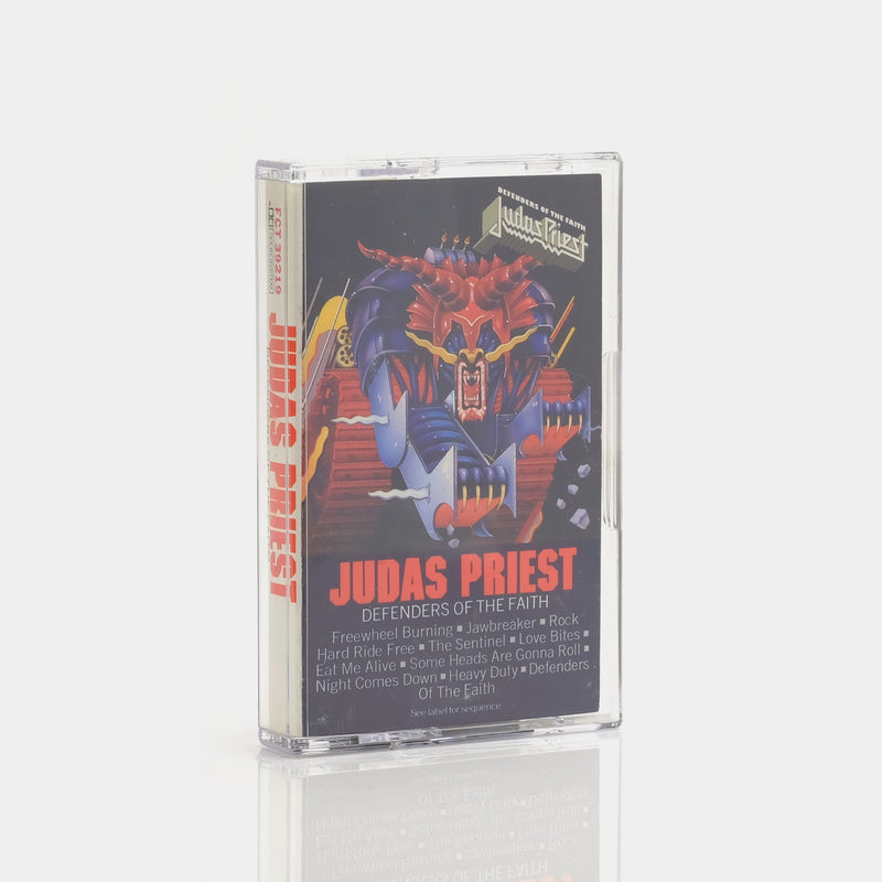 Judas Priest - Defenders Of The Faith (1984) Cassette Tape