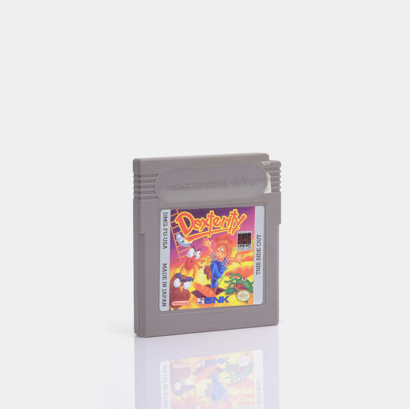 Dexterity (1990) Game Boy Game