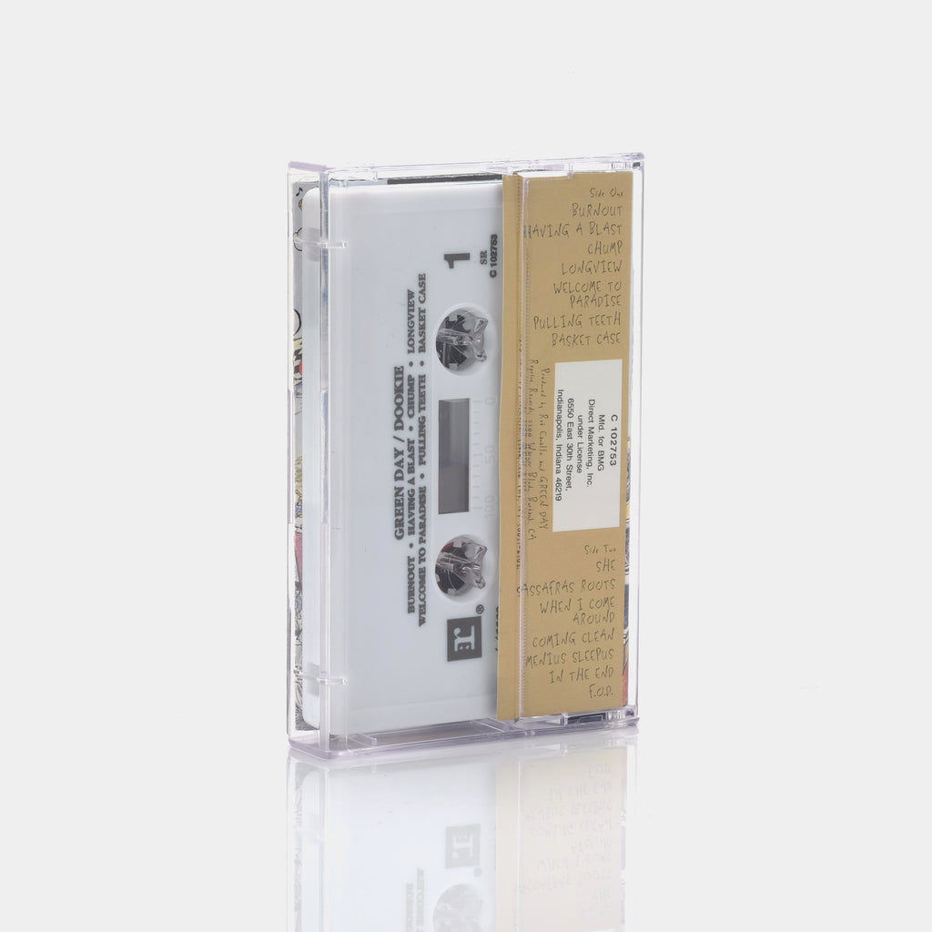 Green Day - Dookie (1994) Cassette Tape