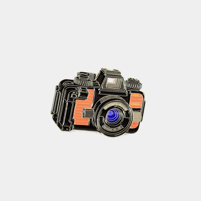 Waterproof Nikonos Camera Enamel Pin