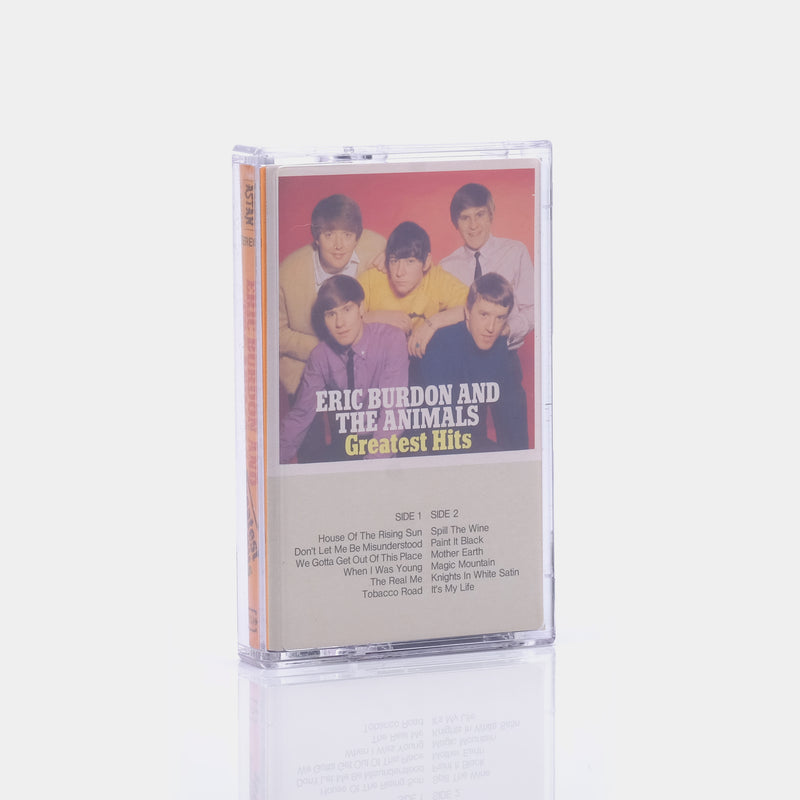 Eric Burdon & The Animals - Greatest Hits (1969) Cassette Tape