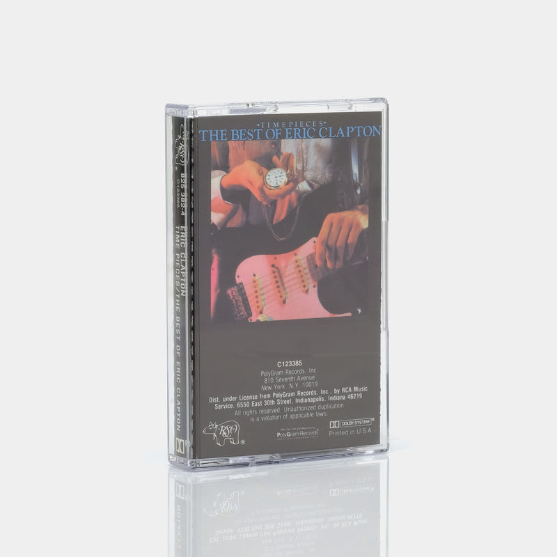 Eric Clapton - Time Pieces (The Best of Eric Clapton) (1982) Cassette Tape