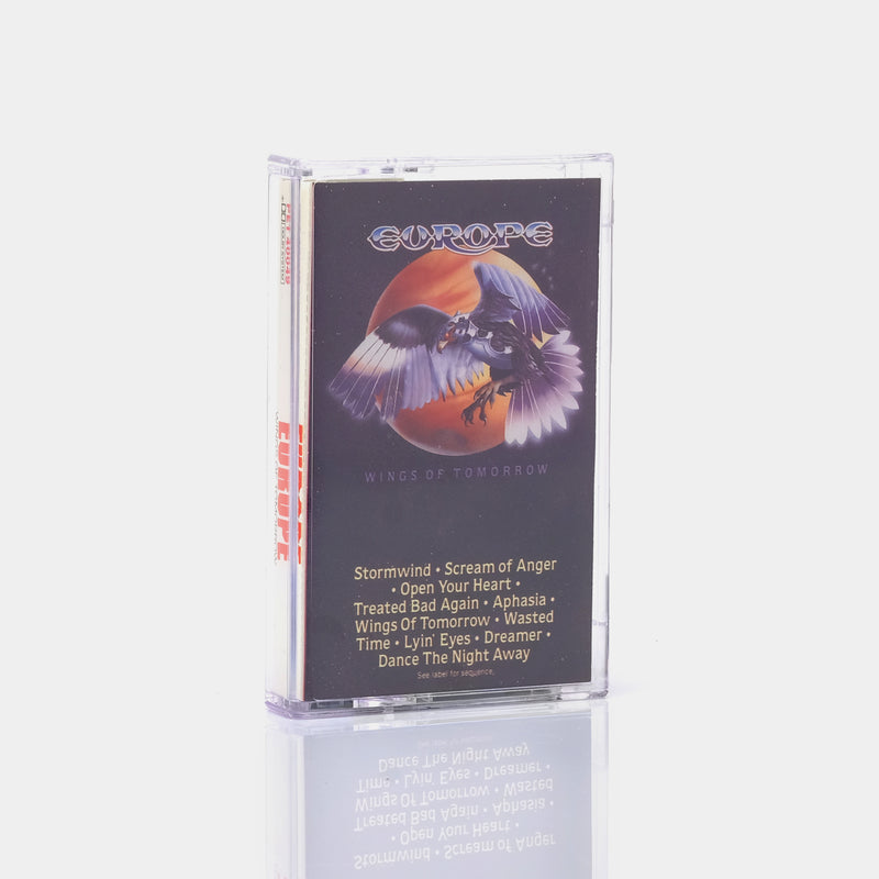 Europe - Wings Of Tomorrow (1984) Cassette Tape