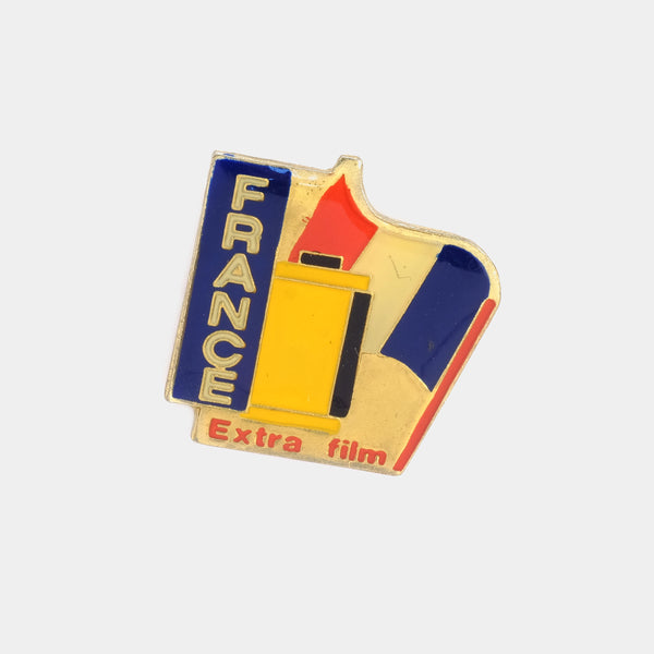France Extra Film Vintage Enamel Pin