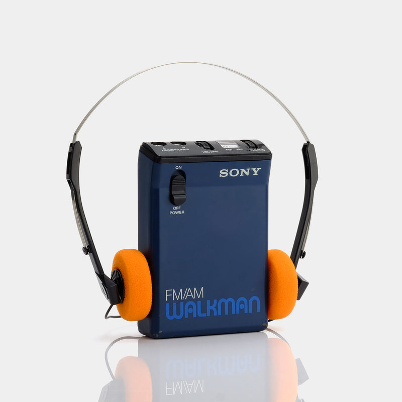 Sony Walkman SRF-33W AM/FM Portable Radio