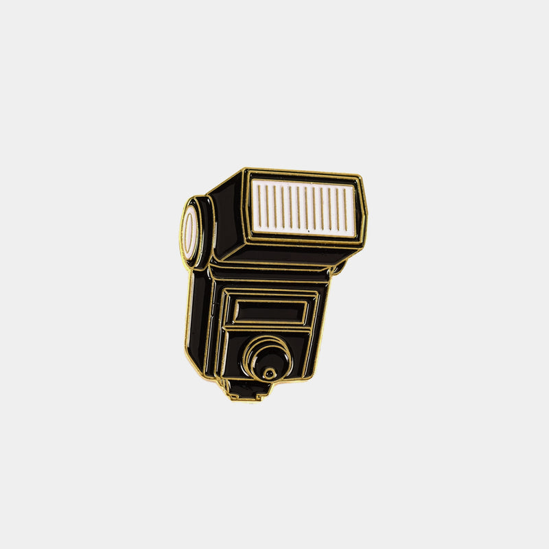 Vintage Flash Enamel Pin