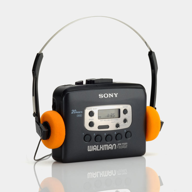 Sony Walkman WM-FX221 AM/FM Portable Cassette Player