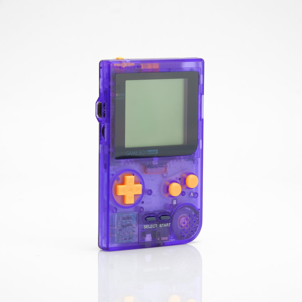Refurbished Game Boy Pocket - Clear Purple