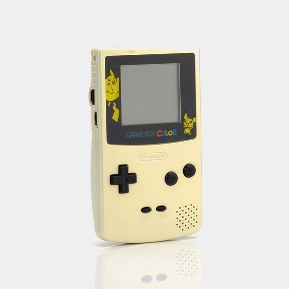 Refurbished Game Boy Color - Pearl Yellow Pokemon