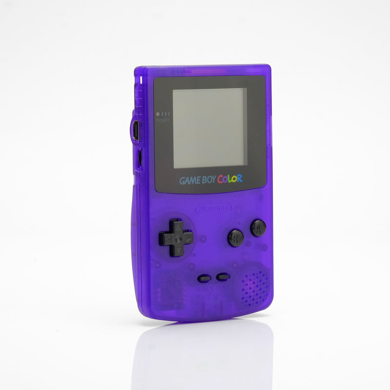 Game Boy Color - Clear Purple