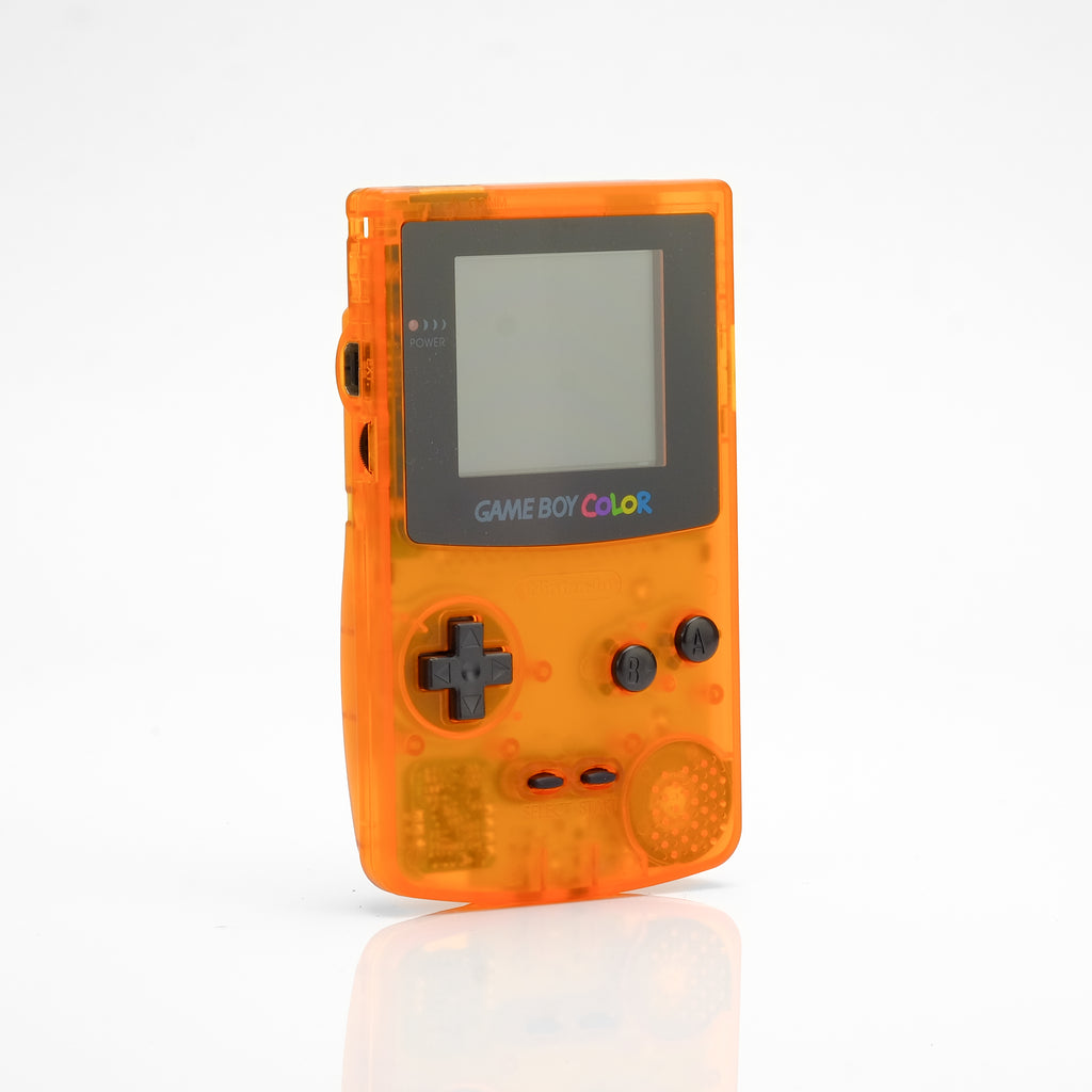 Refurbished Game Boy Color - Clear Orange