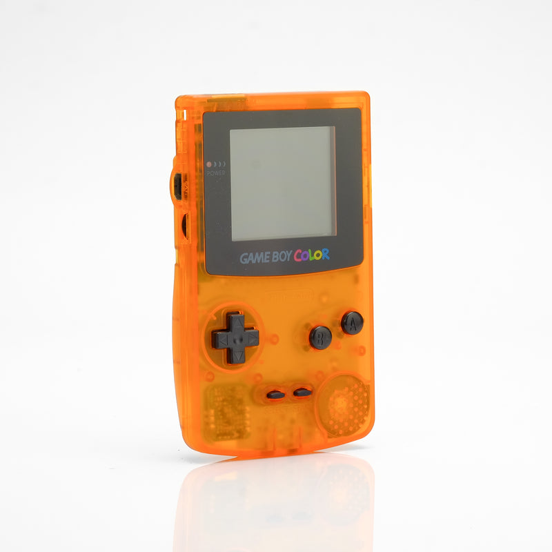 Game Boy Color - Clear Orange