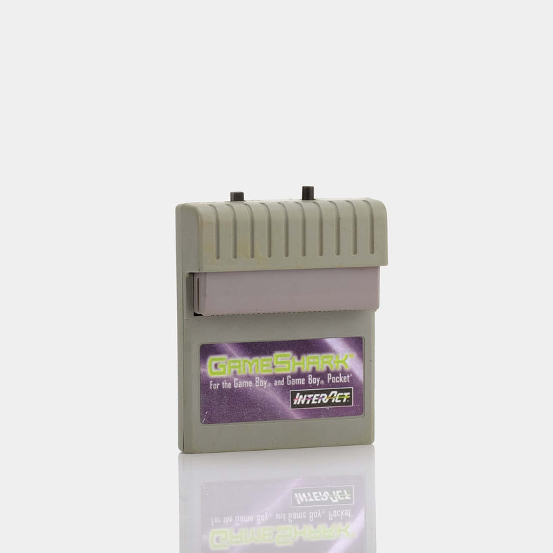 GameShark (1998) Game Boy Cheat Code Adaptor