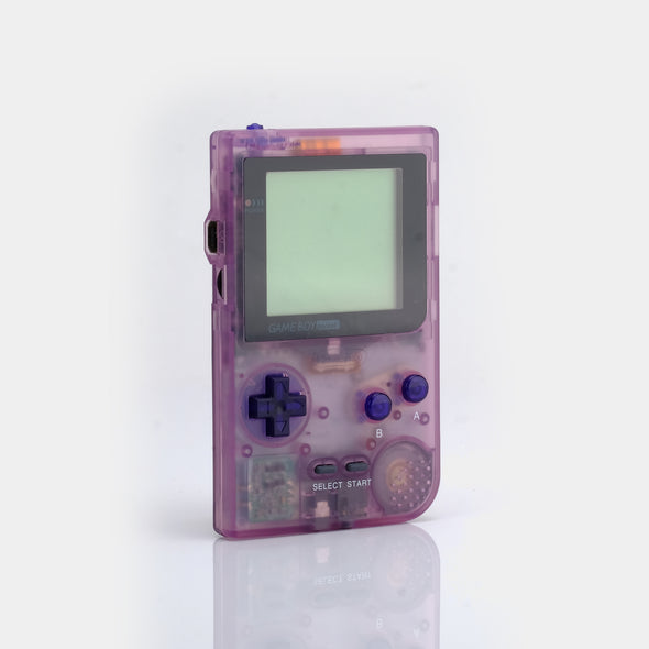 Refurbished Game Boy Pocket - Clear Atomic Purple