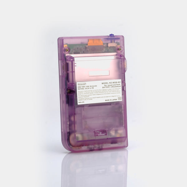Game Boy Pocket - Clear Atomic Purple