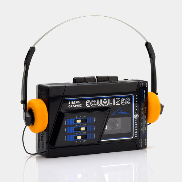 General Electric Equalizer Portable Cassette Player