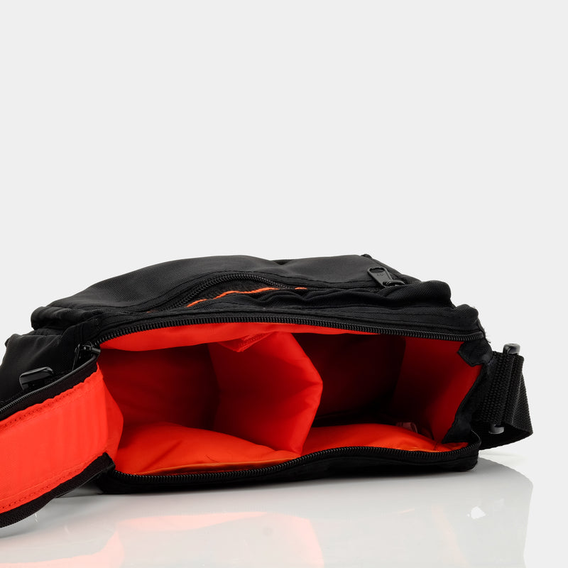 Black and Red Roll Film Camera Bag
