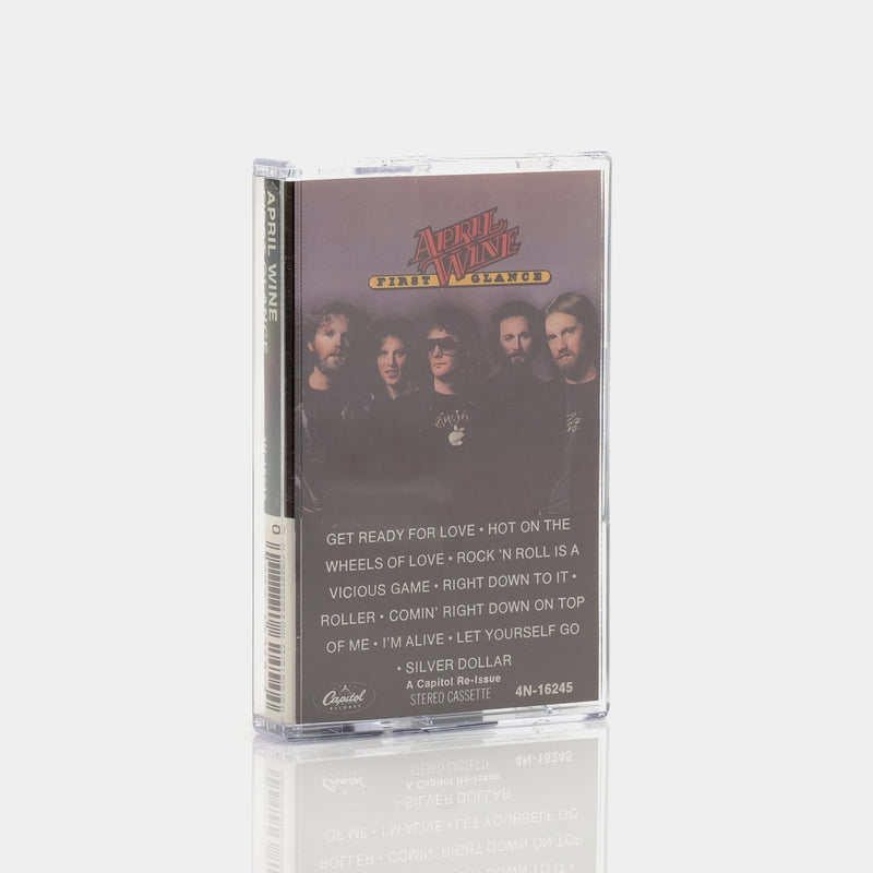 April Wine - First Glance (1978) Cassette Tape