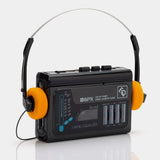 GPX C3098R Equalizer AM/FM Portable Cassette Player