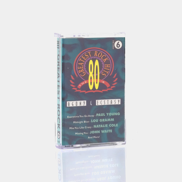 Various Artists - The 80's Greatest Rock Hits Volume 6 (1993) Cassette Tape