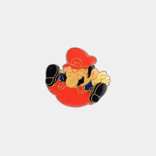 Mario Ground Pound 1988 Vintage Enamel Pin
