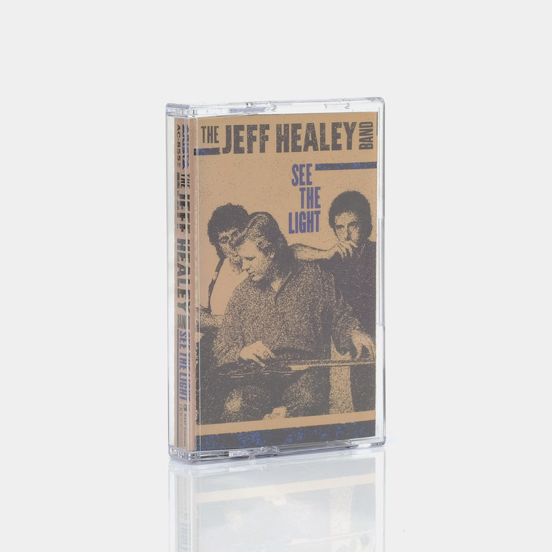 The Jeff Healey Band - See The Light (1988) Cassette Tape