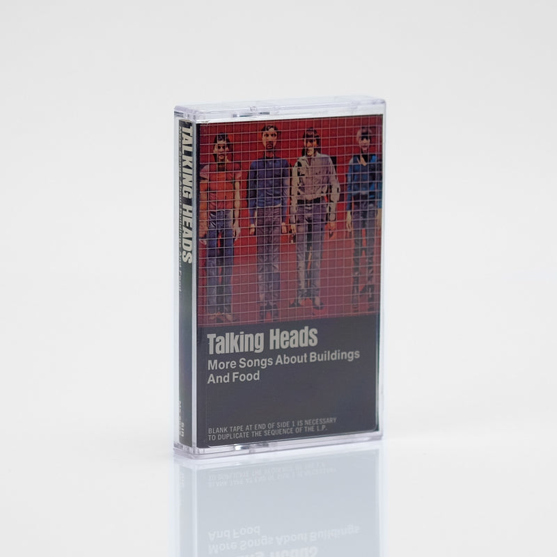 Talking Heads - More Songs About Buildings and Food (1978) Cassette Tape