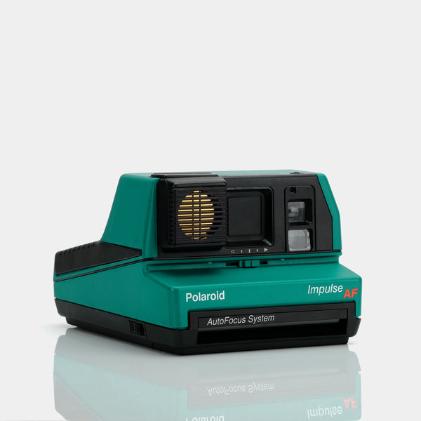 Polaroid 600 Impulse AutoFocus Jade Green Instant Film Camera