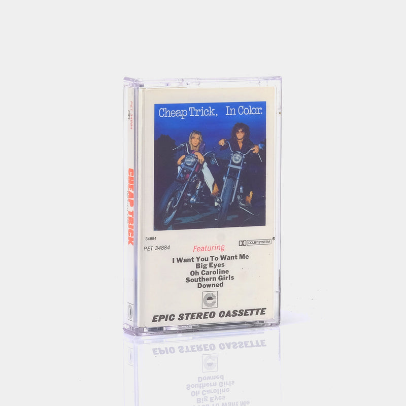 Cheap Trick - In Color (1977) Cassette Tape