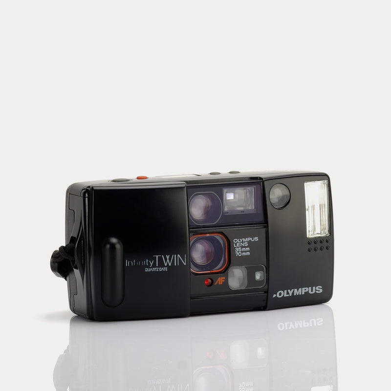 Olympus Infinity Twin Quartzdate 35mm Compact Film Camera