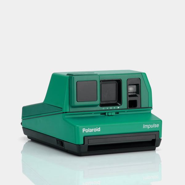 Polaroid 600 Impulse Jade Green Instant Film Camera