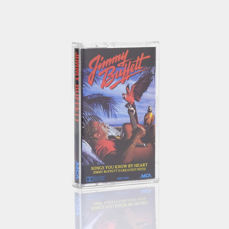 Jimmy Buffett - Songs You Know By Heart (Jimmy Buffett's Greatest Hits) (1985) Cassette Tape