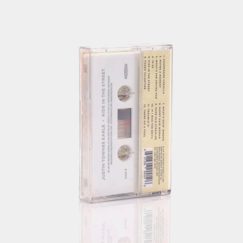 Justin Townes Earle - Kids In The Street (2017) Cassette Tape