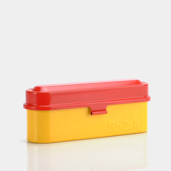 Kodak Vintage Throwback Yellow and Red Film Storage Case