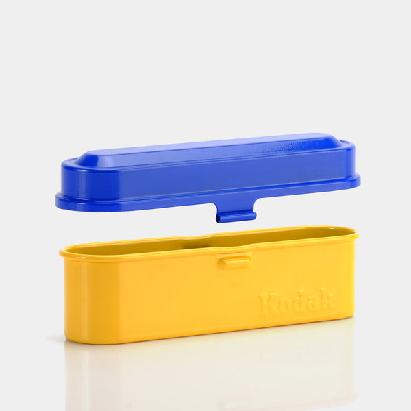 Kodak Vintage Throwback Yellow and Blue Film Storage Case