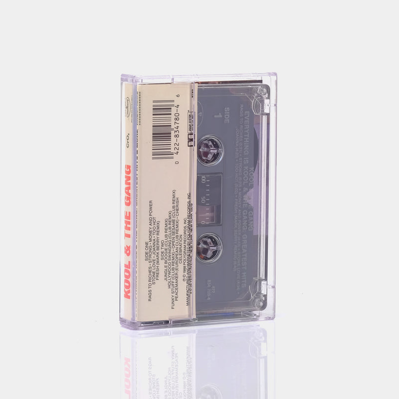 Kool & The Gang - Everything Is Kool & The Gang: Greatest Hits & More (1988) Cassette Tape